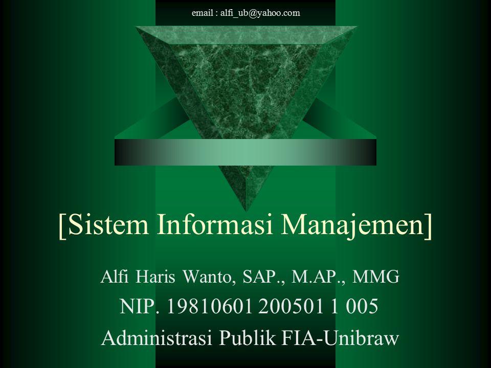 [Sistem Informasi Manajemen]